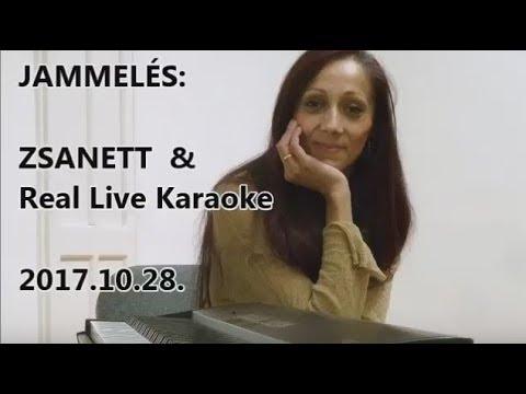 Jammelés – Zsanett & Real Live Karaoke (2017.10.28.)