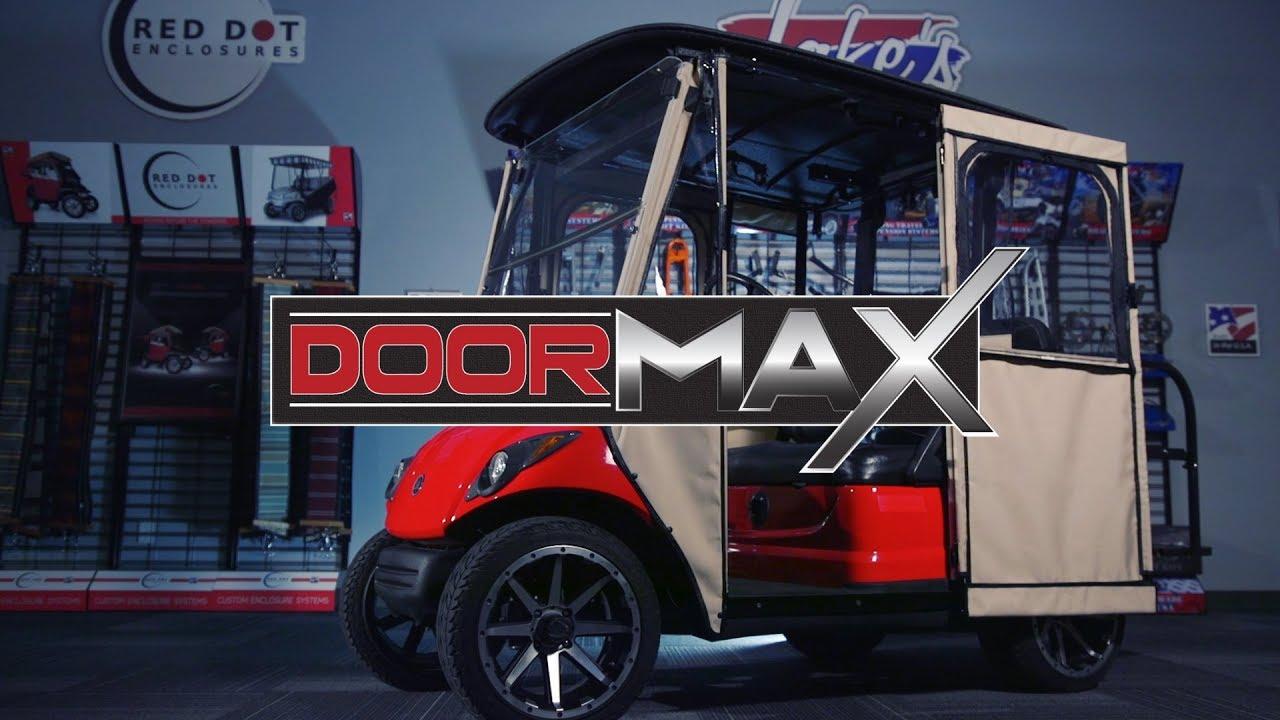 Doormax Enclosure Nivel Golf Cart Accessories Youtube