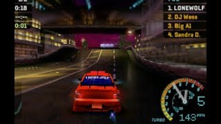 NFS Underground Rivals Gameplay (PSP)
