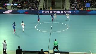 REPLAY - France - Japon Futsal Arena Aix 03.04.18