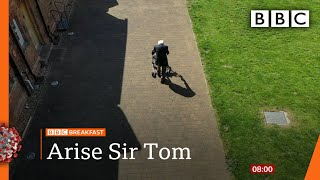 Captain Tom Moore is to be knighted - full interview! - Covid-19: Top stories this morning - BBC