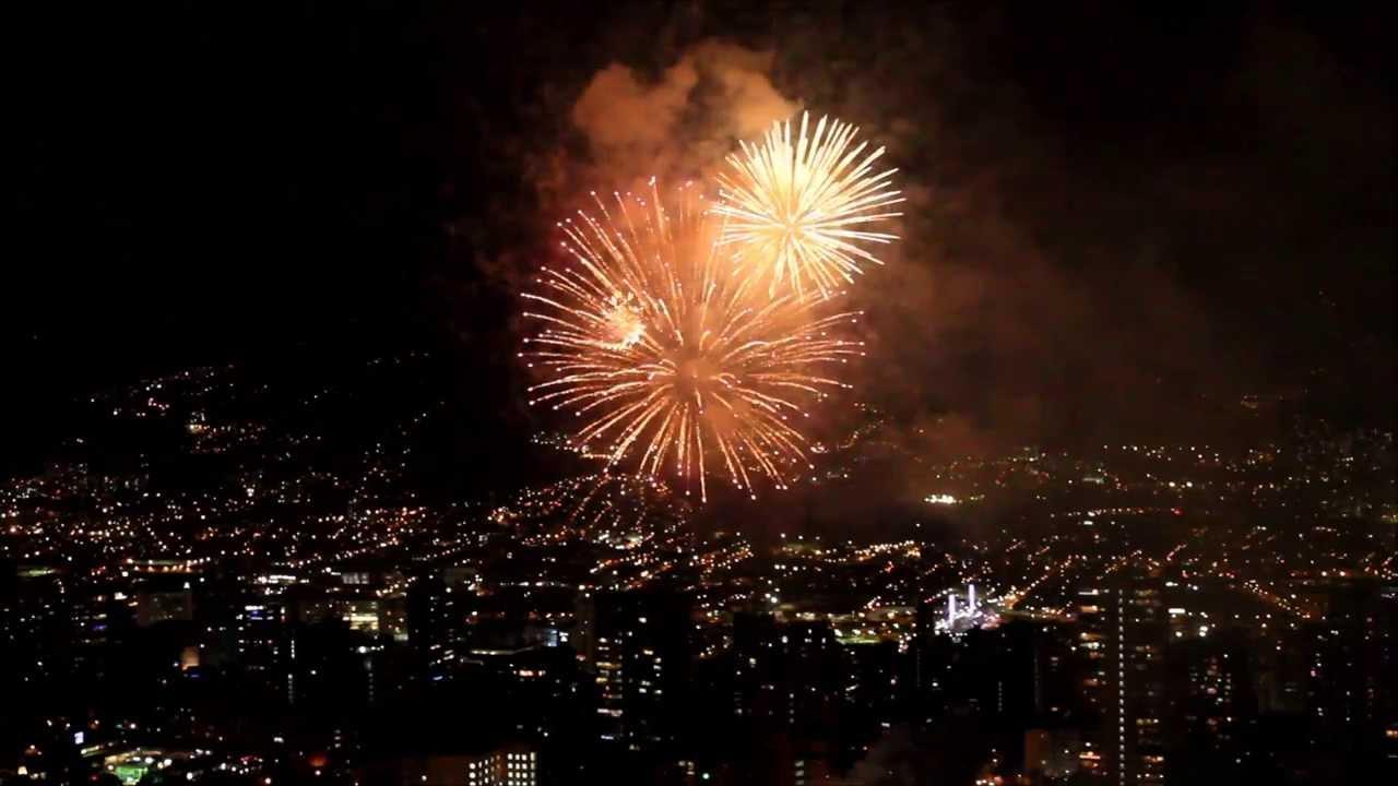 Image result for medellin fireworks