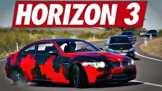 Forza Horizon 3 ROLEPLAY - Trafic en BMW M3 Camo !