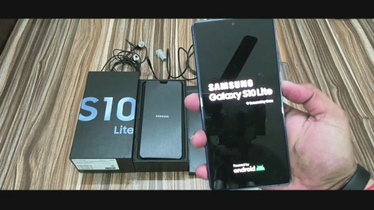 Samsung Galaxy S10 Lite Unboxing & Overview with Camera Samples