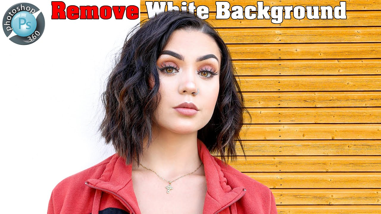 How to Remove White Background in Photoshop [Easy Trick] Urdu/Hindi