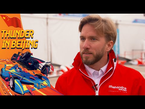 Nick Heidfeld Spricht Ueber Den Unfall Vergangene Saison - (Beijing ePrix)