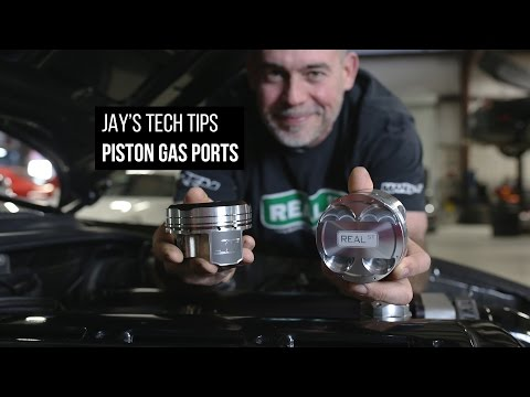 Extra Horsepower!? Piston Gas Ports  - Jay's Tech Tips
