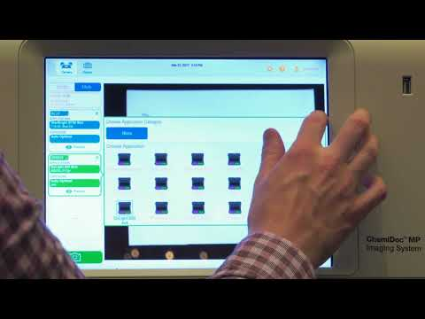 ChemiDoc MP System for Imaging and Analysing Gels