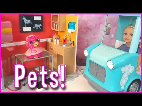 Our Generation Healthy Paws Vet Clinic and My Life as a Pet Mobile Playset Comparison
