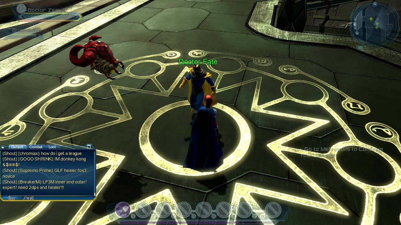 Dr Zeal Meets Dr Fate In Dc Universe Online2012