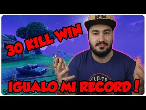 💀 ¡IGUALO MI RECORD, 30 KILL WIN! 💀 ~ FORTNITE