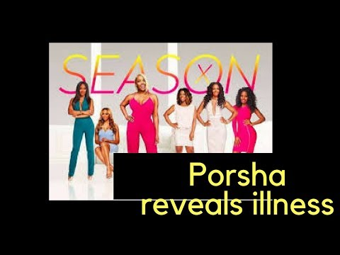 Real Housewives Atlatna s.10 ep. 2 Porsha's disease prevents her from flying coach! recap review