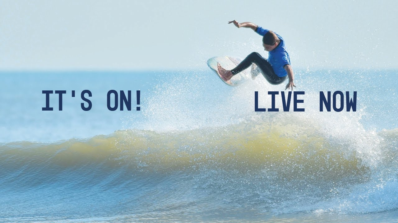 REPLAY: Florida Pro Surf Now Underway at Sebastian Inlet