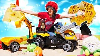 Видео для детей Капуки Кануки Торт из цветнои капусты для Лаки Рецепты для детей