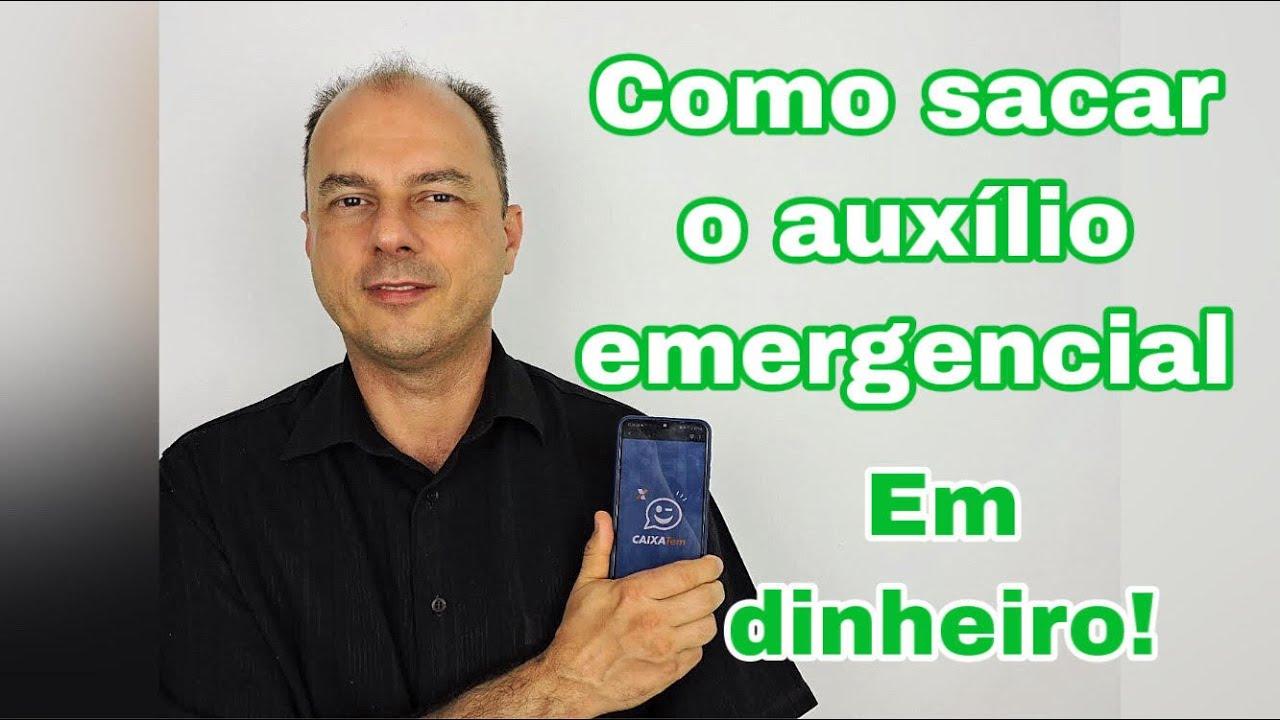 URGENTE! Como sacar o auxílio emergencial no caixa eletrônico (Como gerar código Caixa Tem)