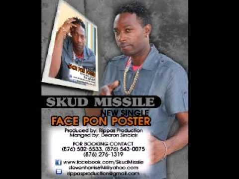 SKUD MISSILE_Face Pon Poster