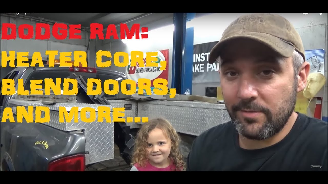 medium resolution of dodge ram heater core blend doors and more part i