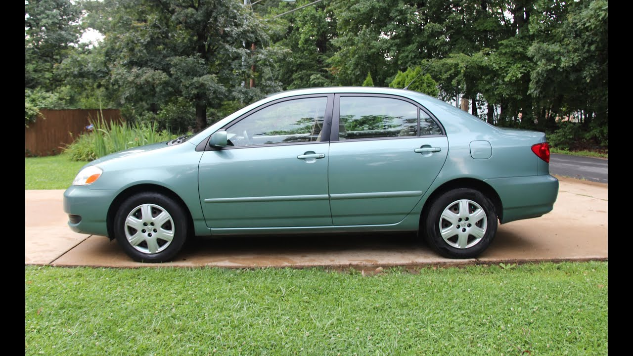 Toyota Corolla Le >> 2006 TOYOTA COROLLA LE Auto Review - Reliable Used Cars ...
