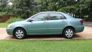 2006 TOYOTA COROLLA LE Auto Review - Reliable Used Cars ⭐