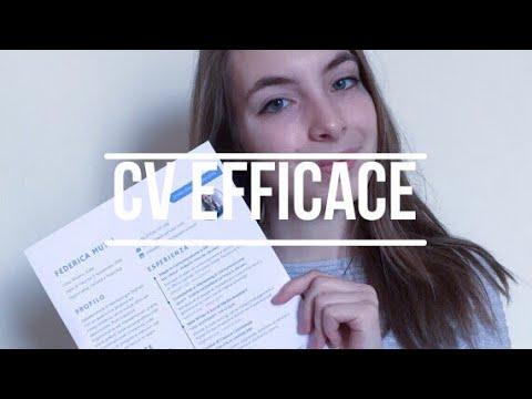COME SCRIVERE UN CV DAVVERO EFFICACE ☼ Federica Mutti
