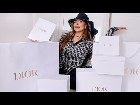 $21,000 DIOR Luxury Unboxing- 3 New Bags, Shoes, Accessories & Ready To Wear Spring Summer 2021