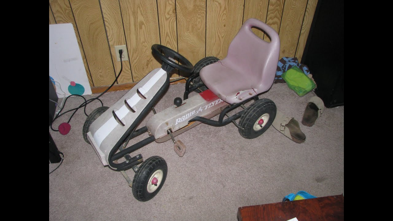 Radio Flyer Pedal Car Parts