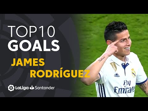 TOP 10 GOALS LaLiga James Rodríguez