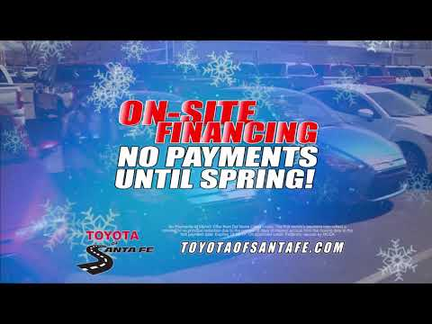Annual Holiday 2   AWD under $15000. Toyota of Santa Fe | New Mexico Toyota Dealer