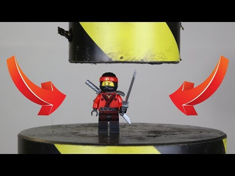 Experiment Hydraulic Press VS Lego Ninjago And Toys | The Crusher