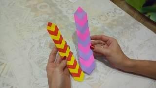 DIY : Закладка для Книги из Бумаги *** Bookmark of Paper *** Поделки из Бумаги *** Origami