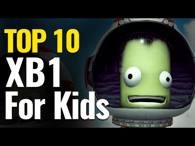 Top 10 Xbox One Games for Kids |  ESRB Everyone