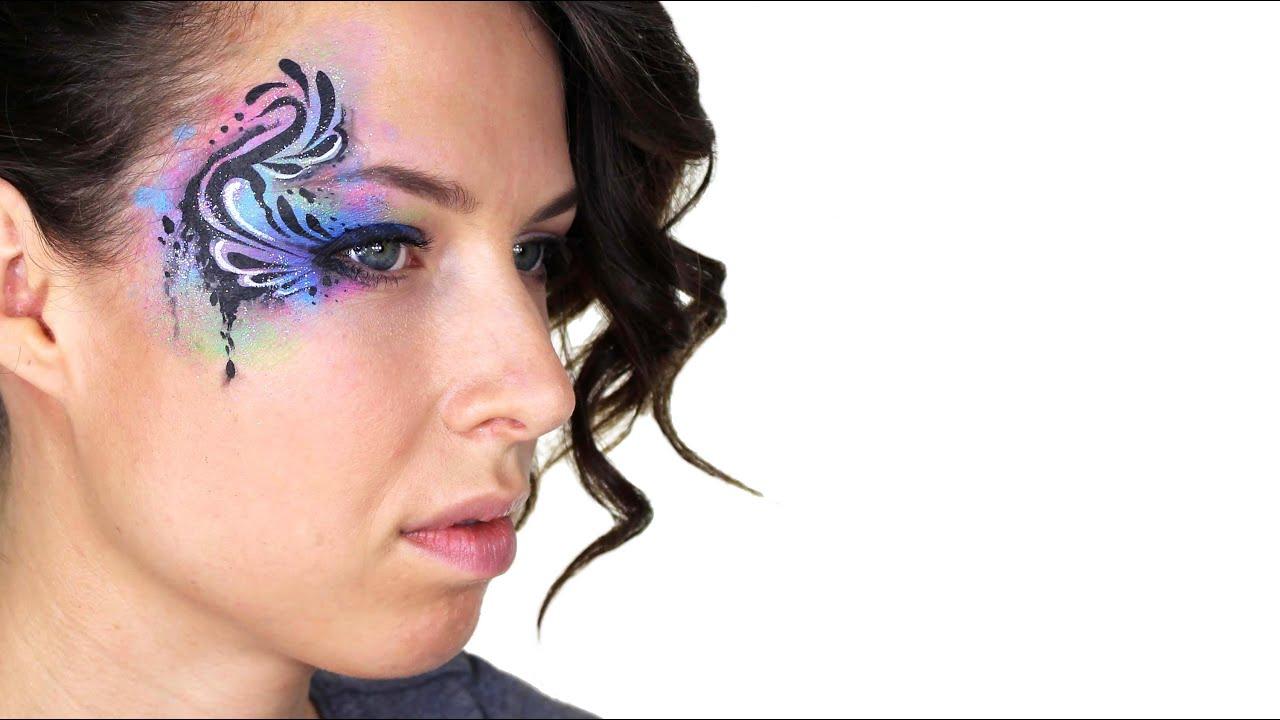Tribal Eye Face Paint
