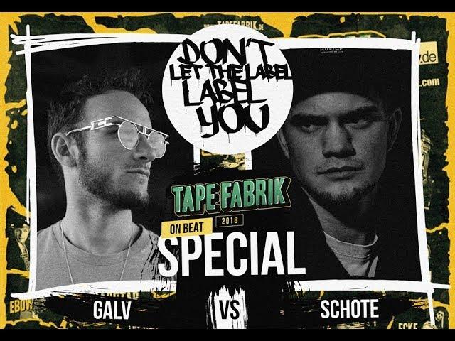 DLTLLY // On Beat Battle // Galv VS Schote