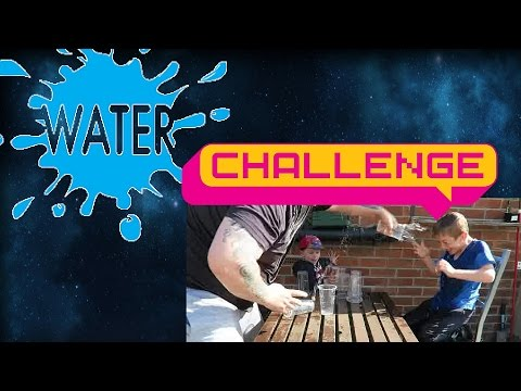 Water War Challenge father v's son |