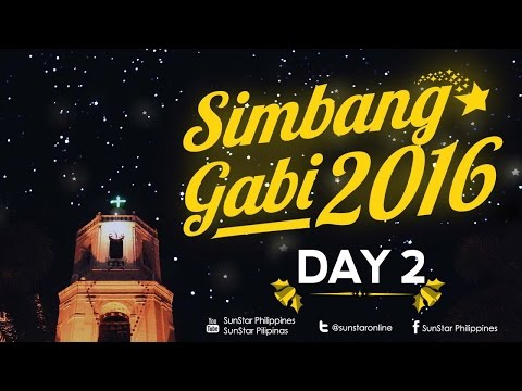 Watch: Simbang Gabi Day #02 December 17, 201