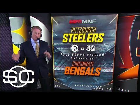 Jon Gruden calls hits in Steelers-Bengals