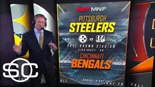 Jon Gruden calls hits in Steelers-Bengals 'disgusting and disturbing' | SportsCenter | ESPN