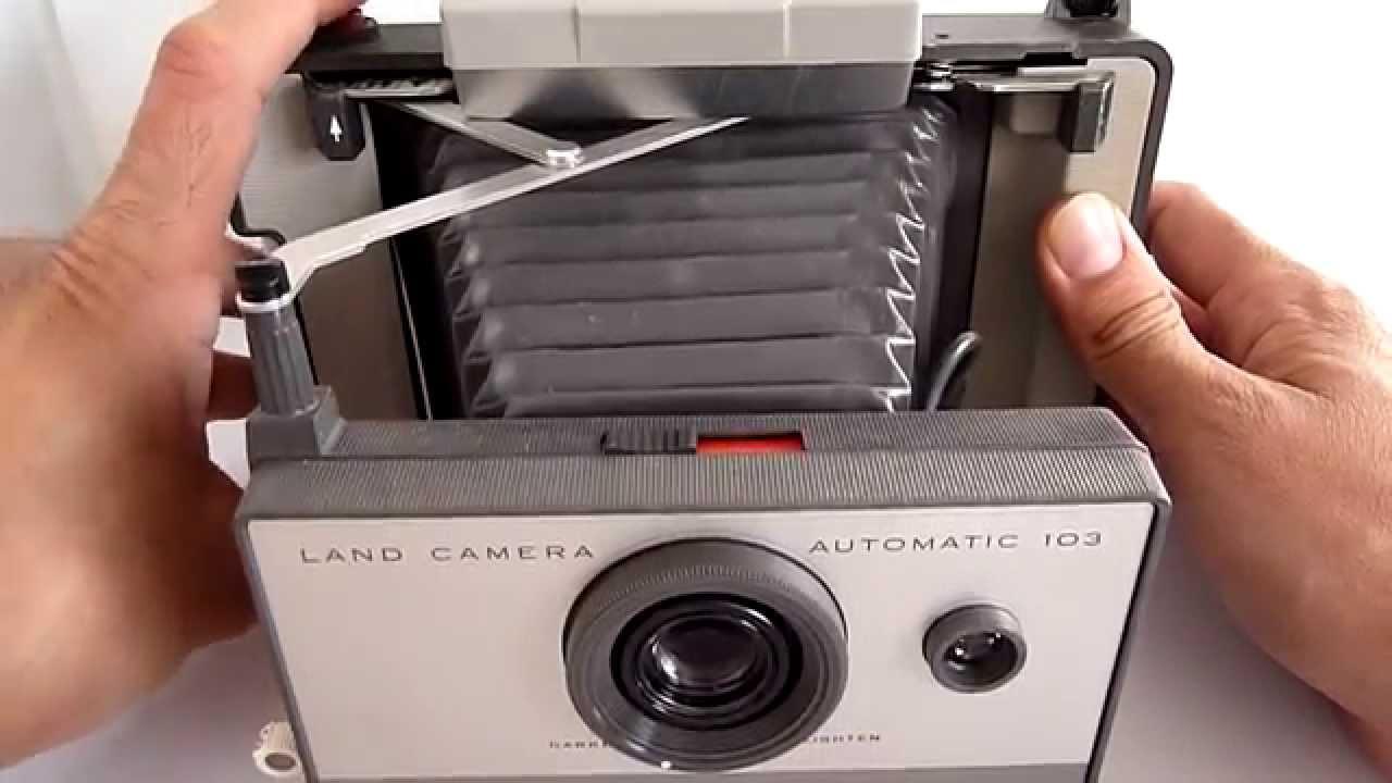 b7e68577e9 (A LA VENTA) Camara Instantanea Antigua De Coleccion Polaroid Funcional -  YouTube