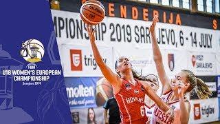 Russia v Hungary - Full Game - FIBA U18 Women's European Championship 2019