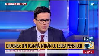 Dragnea: Din toamnă intrăm cu noua lege a pensiilor