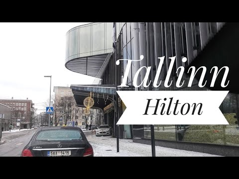 Taxi drive  from Tallinn airport to Hilton hotel