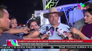 Puerto Salvador Allende moderniza sus instalaciones y promete más proyectos