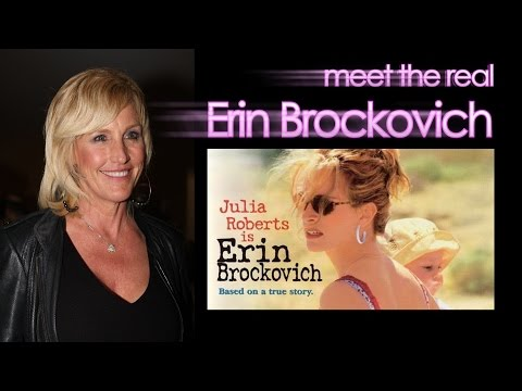 Erin Brockovich movie Julia Roberts Hinkley Steven Soderbergh Brent Holland Show