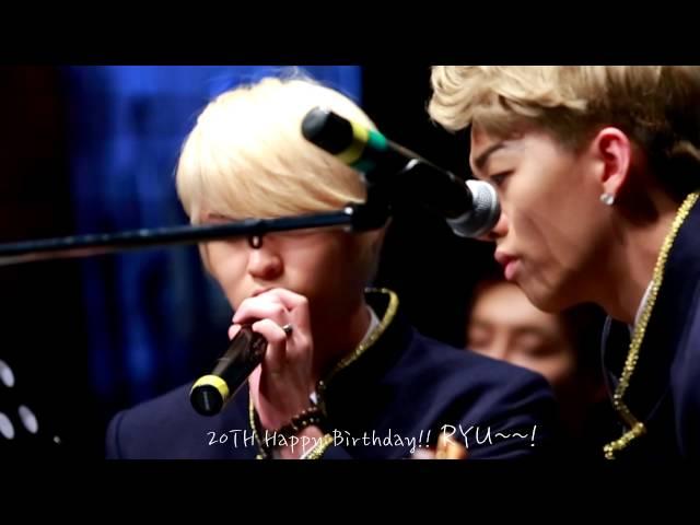 [131106]MR.MR 미스터미스터 류 RYU [Sinchon FanMeeting]