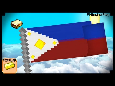 how to make a flag in minecraft ps3