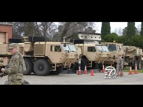 National Guard Re-Evacuation of Oroville Dam, General Denies but 8 Inches of Rain Falling (316)