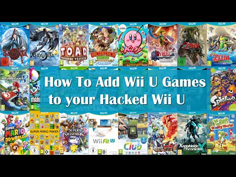 Easily Add Wii U Games To Your Hacked Wii U
