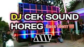 DJ UNTUK CEK SOUND BASS GLERR!! Terbaru 2020