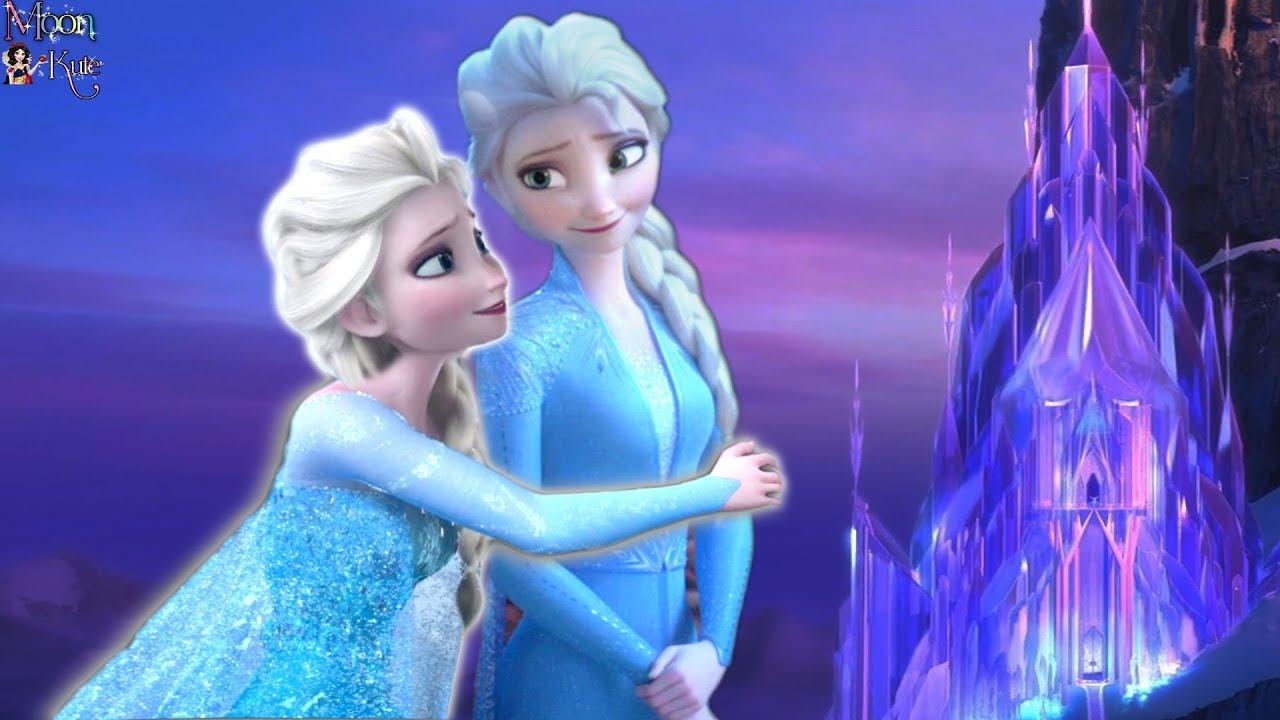 Download Elsa Frozen 2 meets Elsa Frozen 1