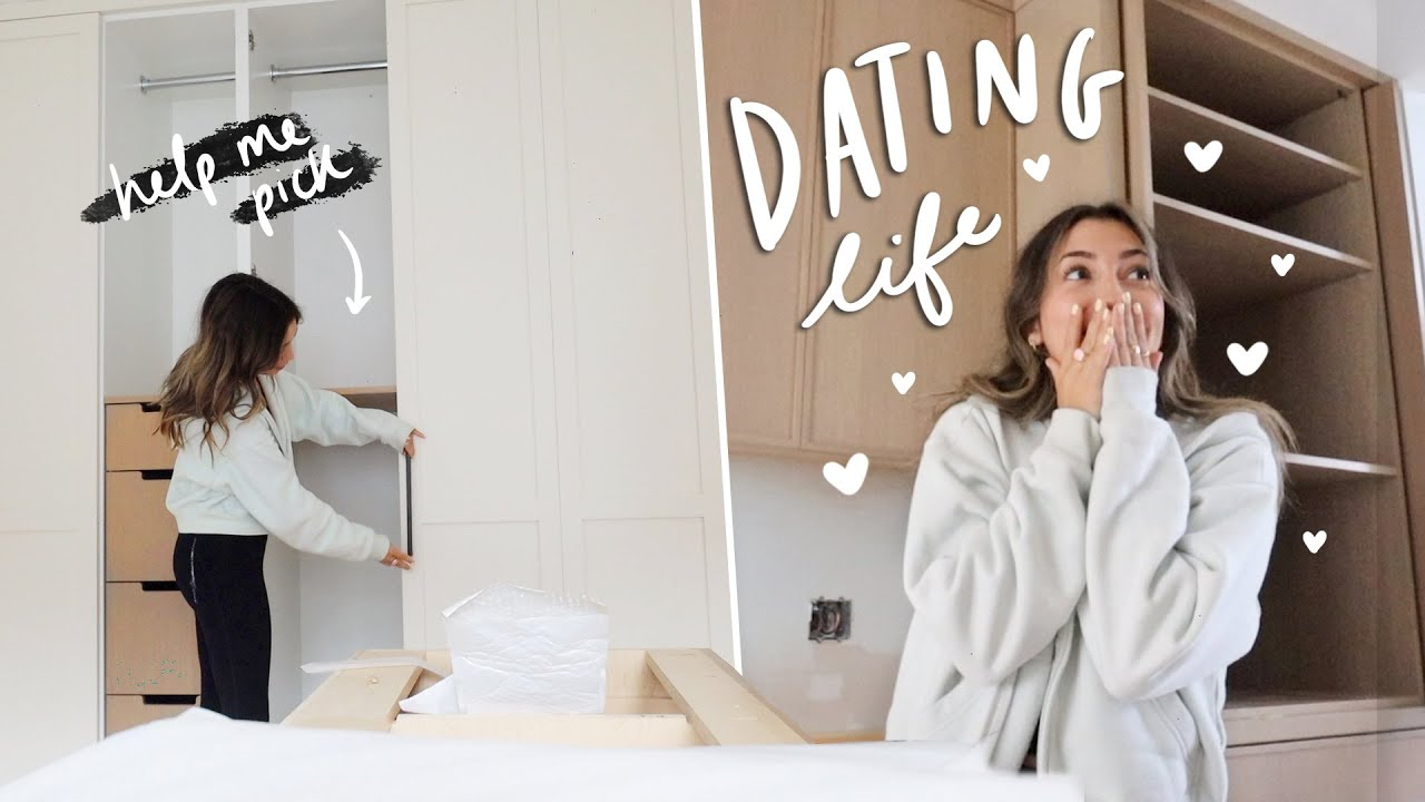 HOUSE UPDATES + furniture shopping and a dating life update...lol